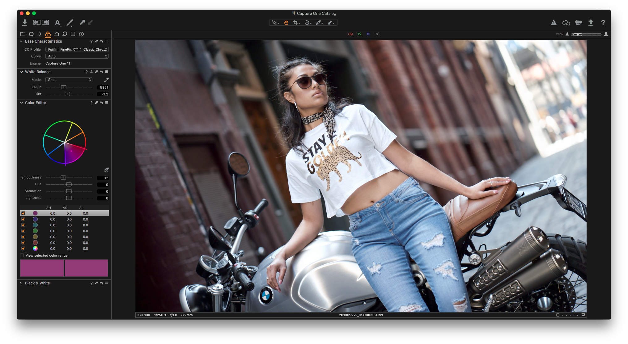How to get Fujifilm classic chrome with a Sony A7iii or
