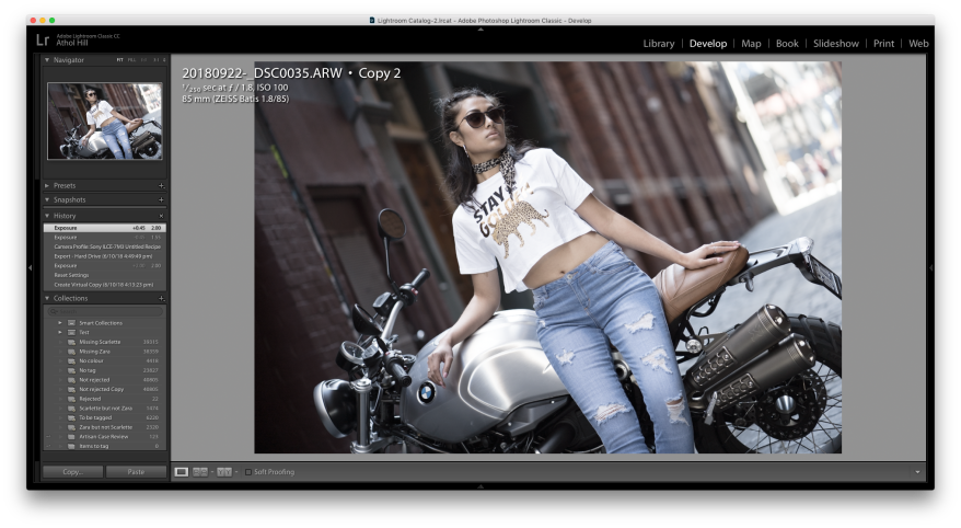How to get Fujifilm classic chrome with a Sony A7iii or other Sony
