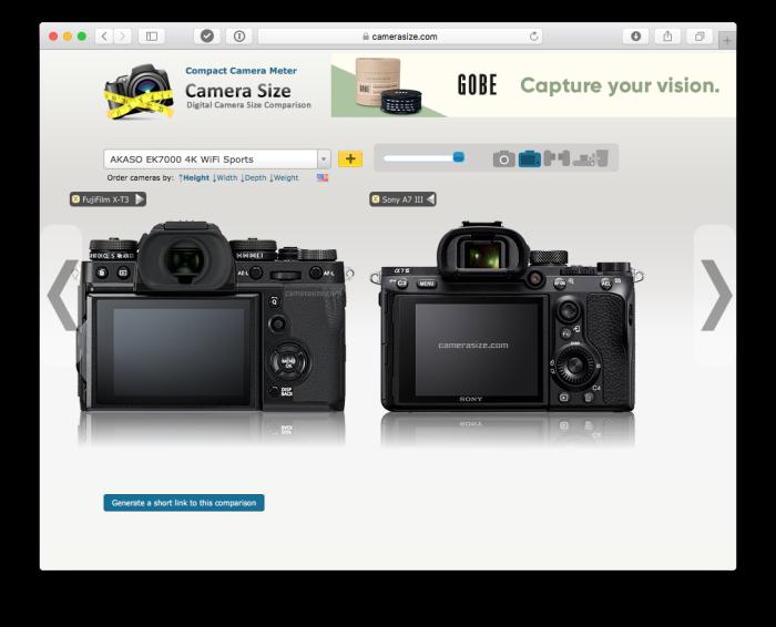 Sony vs Fujifilm Part 5 – Fujifilm can learn how to engineer a camera fromSony